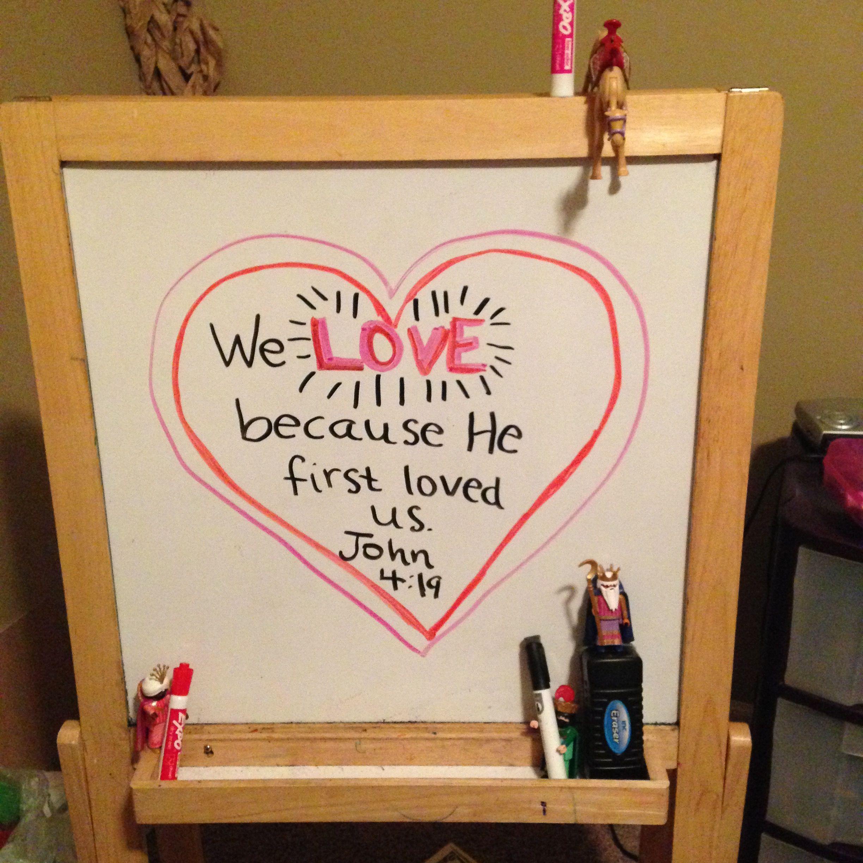Day 15   We LOVE because He first loved us.  John 4:19   #wanderingwisemen #wisemenwandering #wisemenadventures #helovedusfirst