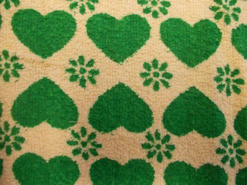 stoff 50x70 stoffrest fabric vintage 70er 70 s dawanda patchwork frottee herz fabrics i love. Black Bedroom Furniture Sets. Home Design Ideas