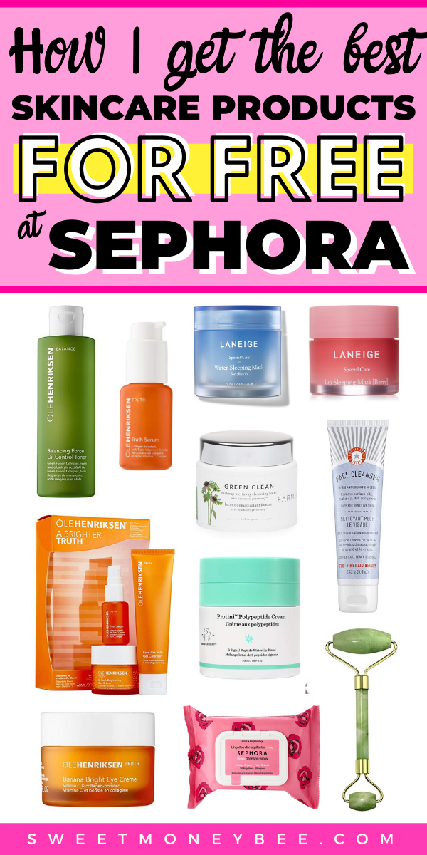 How To Get Free Skin Care Products At Sephora With This Beauty Hack Sephora Skin Care Makeup Products Sephora Best Skincare Products