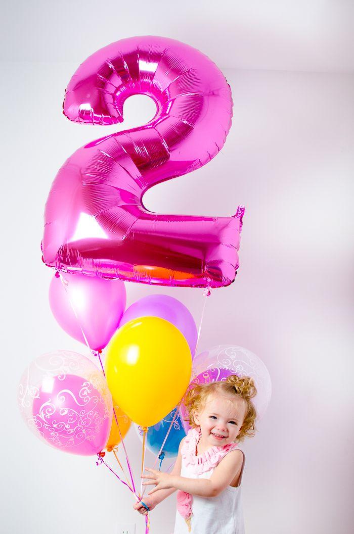 День, картинка для девочки 2 годика