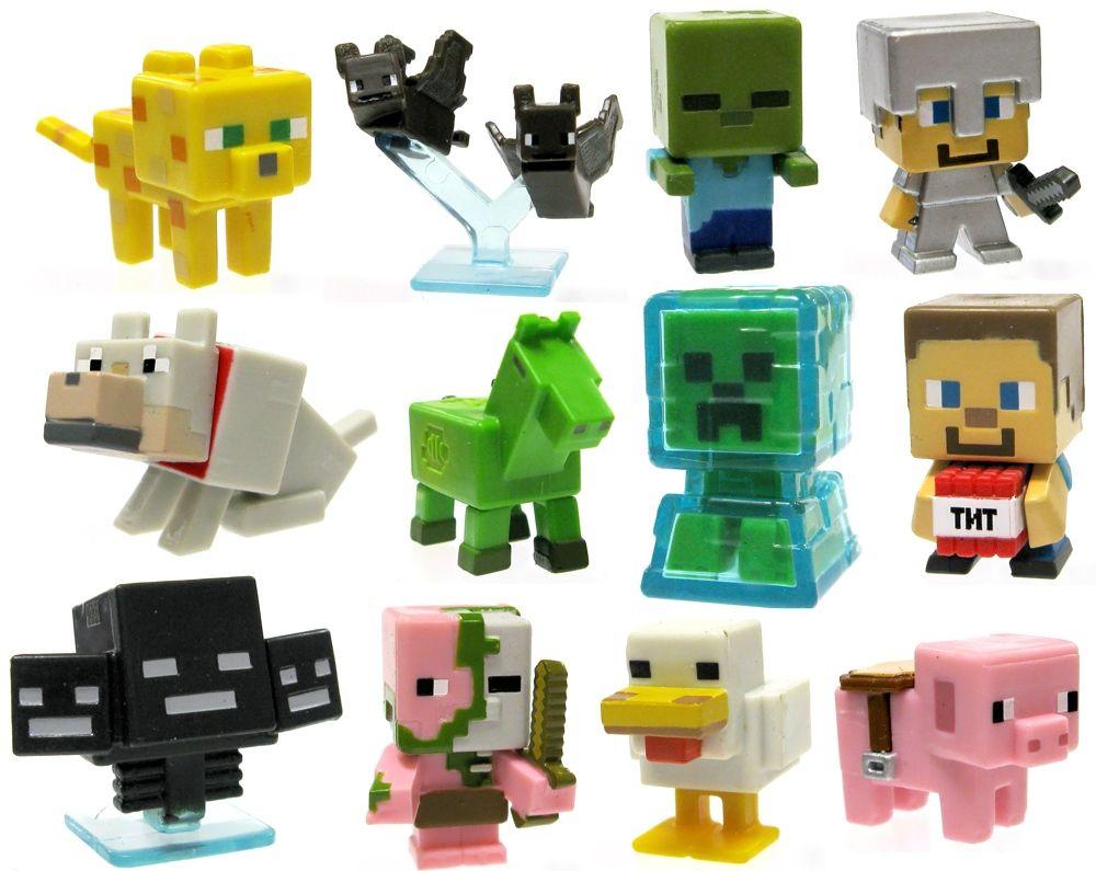 Minecraft Toys Figures Existing Toys Isaac Pinterest