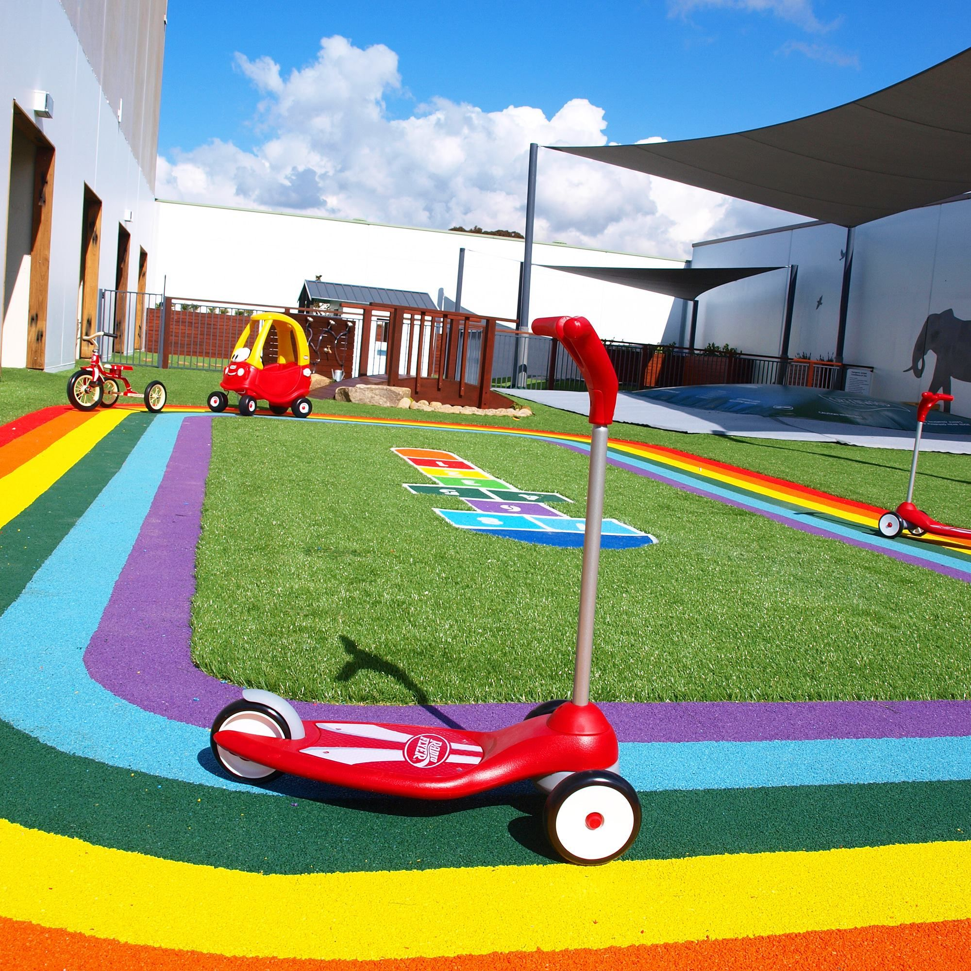 Rooftop playground home google rooftop for Kindergarten playground design