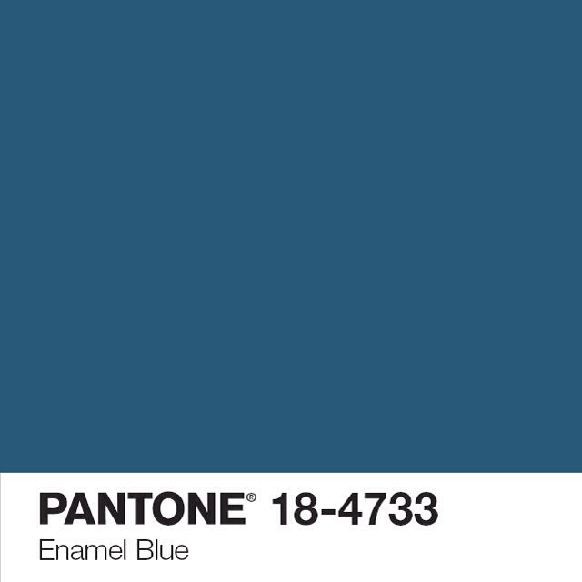 Tollens pantone enamel bleu art pantone pinterest pantone teal kitchen and china for Peinture pantone