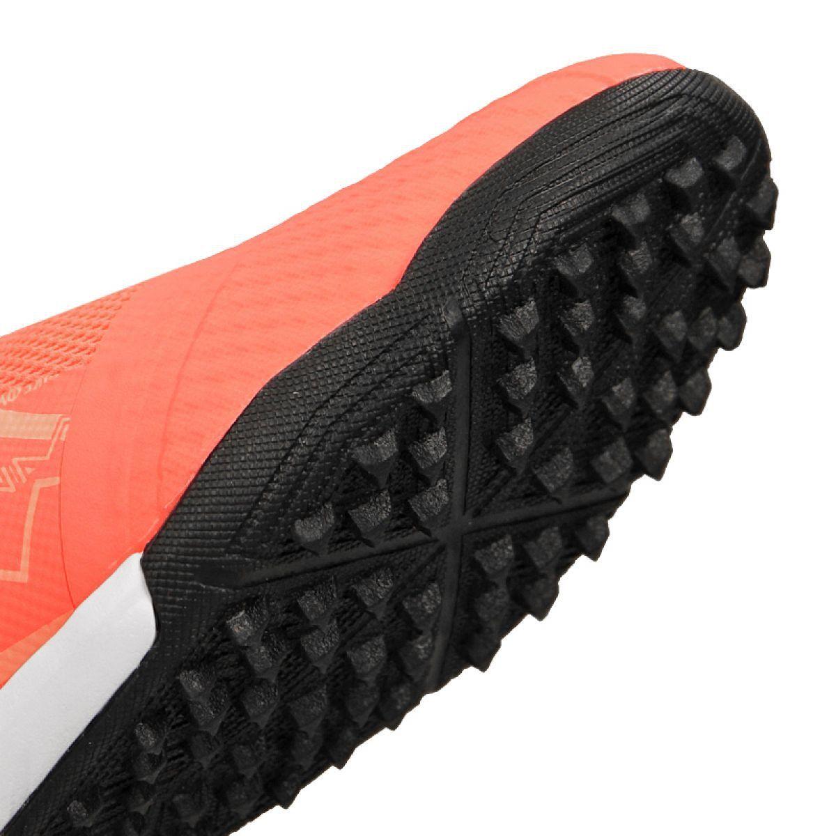 Buty Pilkarskie Nike Phantom Vnm Academy Tf M Ao0571 810 Pomaranczowe Niebieskie Football Shoes Soccer Shoes Shoe Laces