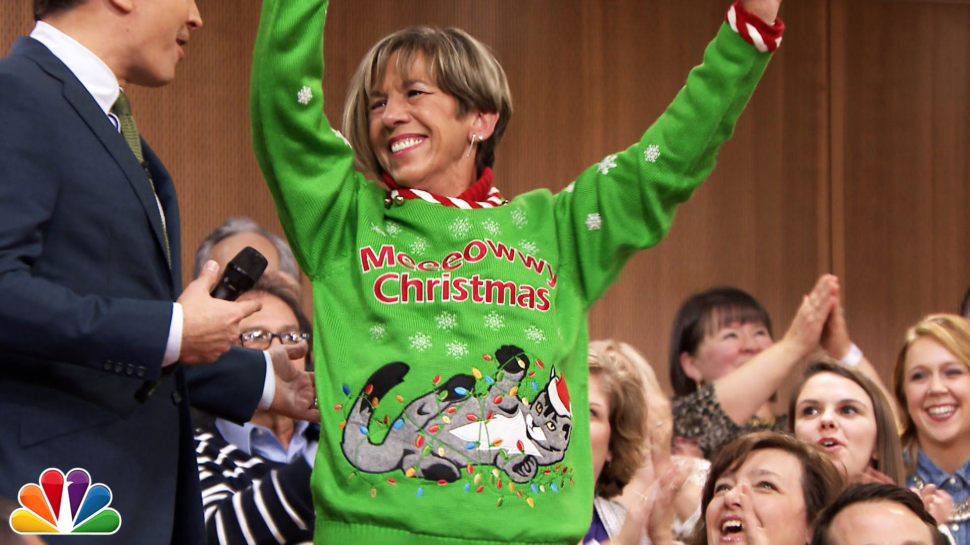 12 Days of Christmas Sweaters: Day 9 | The Show | Pinterest | Jimmy ...