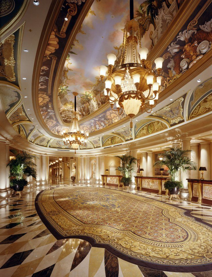 The Venetian Las Vegas    The Venezia Tower has private gardens and pools 10 floors above the Strip.  #JetsetterCurator