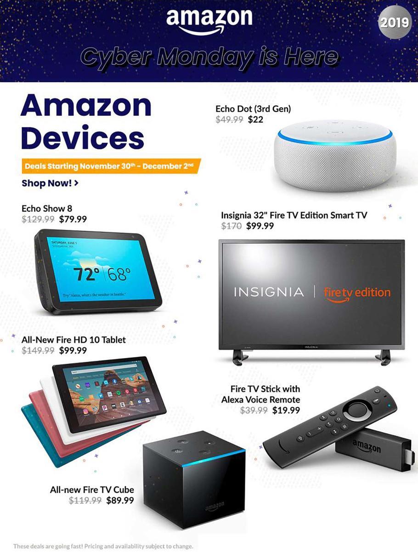 Amazon 2019 Cyber Monday Ad Cyber monday ads, Cyber