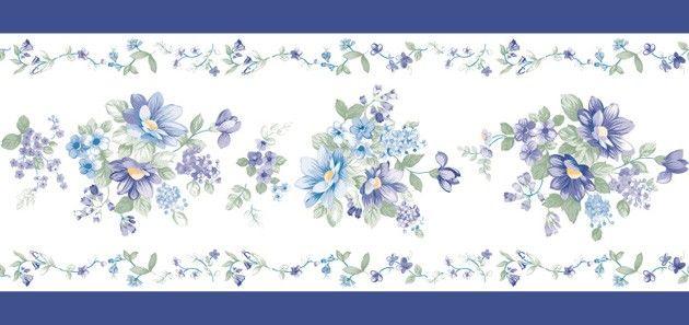 bord re tapeten borte violette blumen bl ten selbstklebend for the home pinterest tapeten. Black Bedroom Furniture Sets. Home Design Ideas