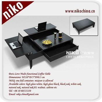 Multi Functional Wooden Coffee Table Buy Coffee Table Multi Functional Coffee Table Wooden Coffee Table Product On Alibab Disenos De Unas Mesas Ratonas Mesas