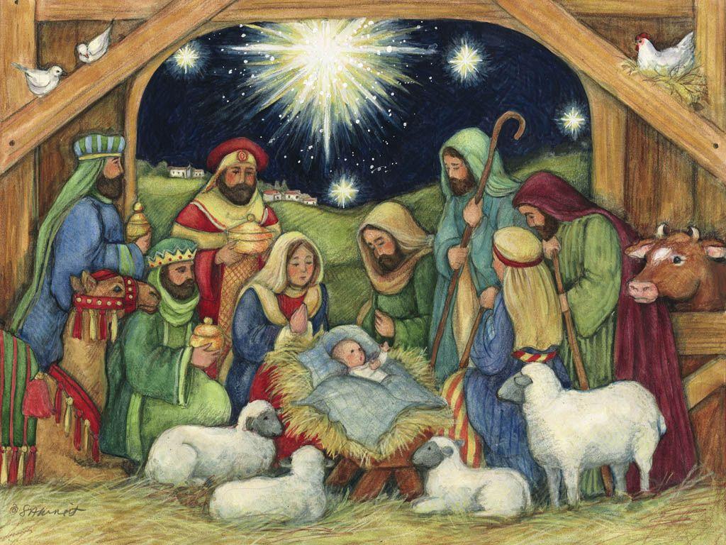 Рождество история в картинках