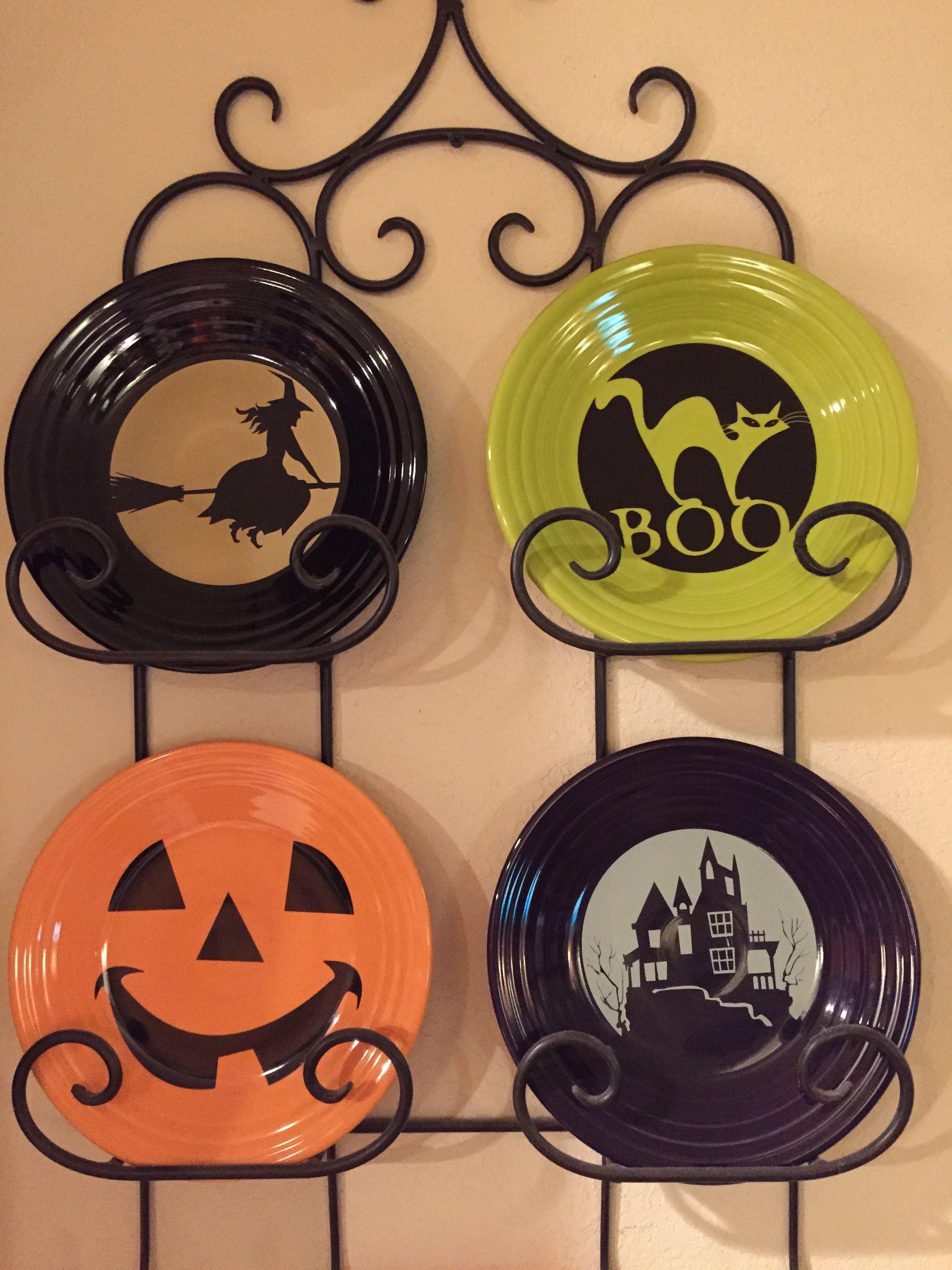 fiesta moon lit witch on black boo cat on lemongrass happy pumpkin on tangerine spooky haunted house on plum