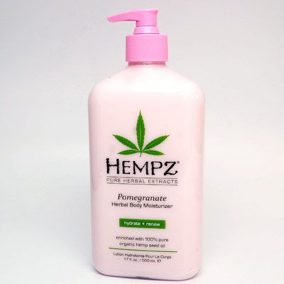 Hempz Herbal Body Moisturizer Pomegranate Moisturizer For