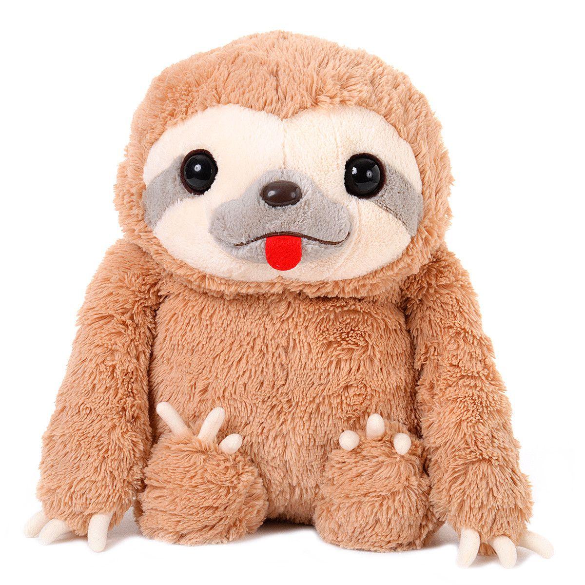 Namakemono No Mikke Otomodachi Big Mikke Plush Sloth Plush Cute Sloth Cute Stuffed Animals [ 1200 x 1200 Pixel ]
