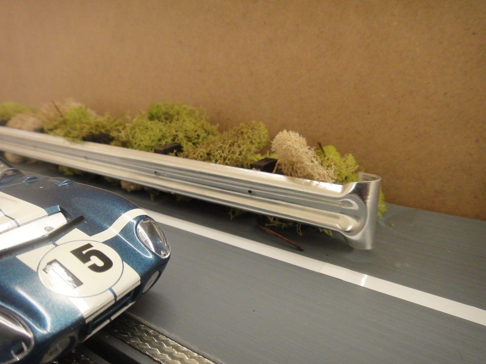 1 32 Scale Aluminum Armco Guardrail System Slot Car Track Diorama Scenery Ebay Slot Cars Slot Car Tracks Stuffed Pork Tenderloin