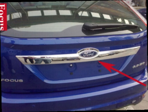 51 00 Watch Now Http Aliaqs Worldwells Pw Go Php T 2046882556 Car Styling Chromium Rear Bumper Sill Protector Decoration Trunk Cover Up Trim For Ford S Izobrazheniyami