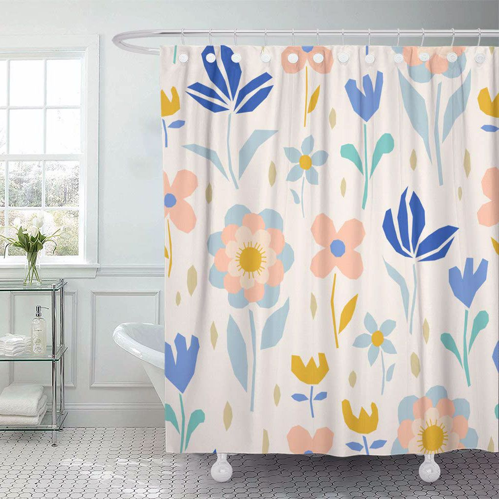 52 Proper Shower Curtain For Your Scandinavian Bathroom In 2020 Scandinavian Shower Curtains Scandinavian Bathroom Shower Curtain
