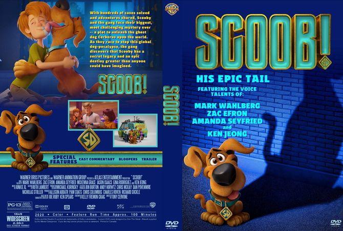 Scoob 2020 Dvd Cover Design Custom Dvd Dvd Covers