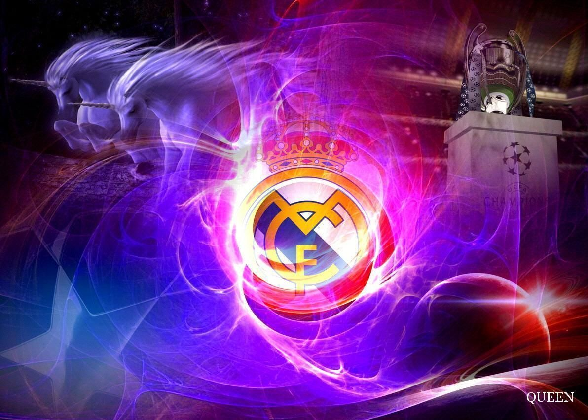 Real Madrid New Logo Cool Wallpapers 12547 Wallpaper Cool Real Madrid Wallpapers Real Madrid Madrid Wallpaper
