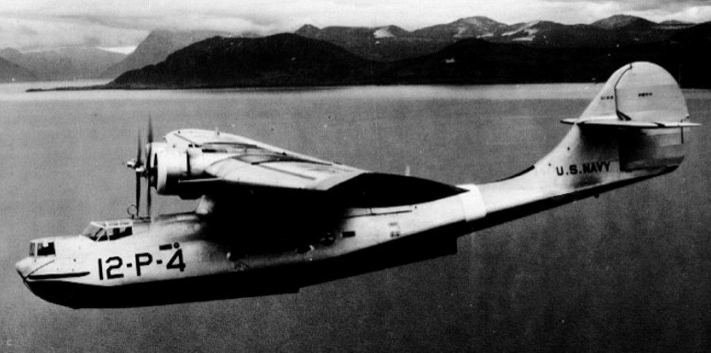Photo PBY Catalina Aircraft Of US Navy Patrol Squadron VP In - Flying to seattle washington