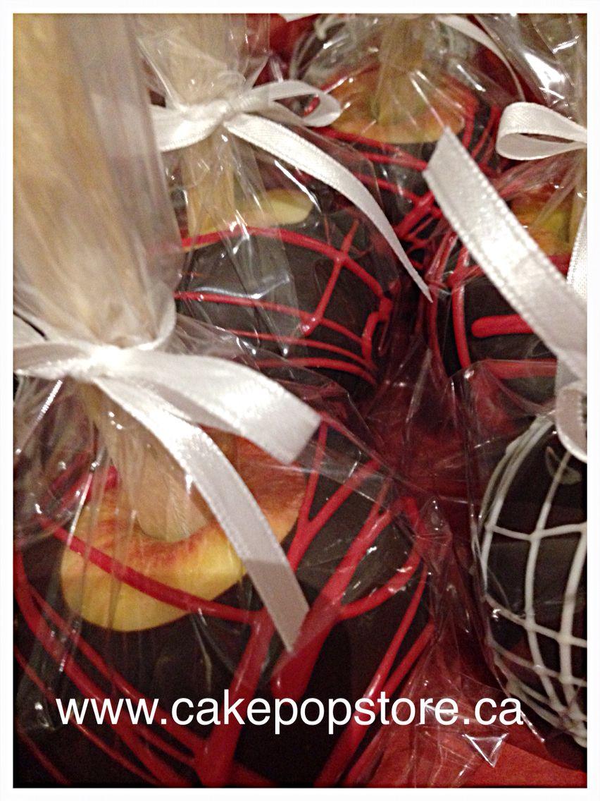 Chocolate dip apples