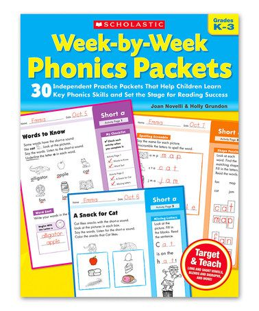Look What I Found On Zulily Scholastic Week By Week Phonics