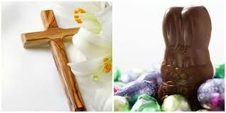 Image result for advertising easter eggs with religion
