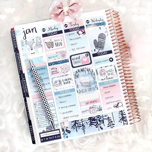 January Planner Page Layout Happy Planner Layout Planner Erin Condren Happy Planner