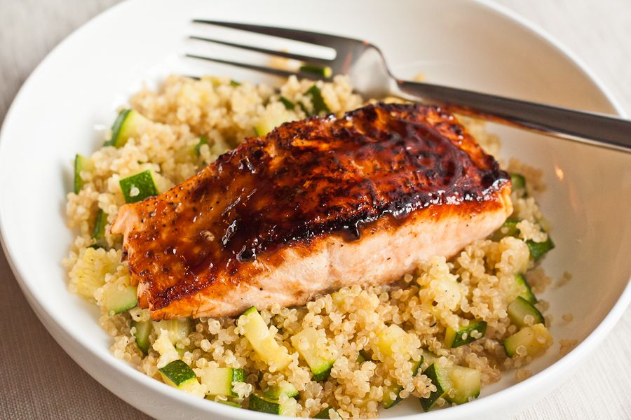 Great Salmon recipe. Works great with broiler as well.
