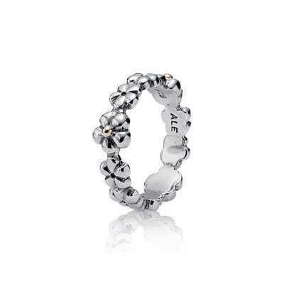 PANDORA | Silver ring, 14K | Rings in 2019 | Pandora ...