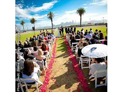 Winery SF Weddings San Francisco Reception Venues Treasure Island Weddings 94130 http://www.herecomestheguide.com/northern-california/wedding-venues/winery-sf/