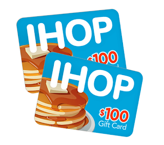 Get $100 iHop Gift Card! in 2020 | Best gift cards, Restaurant gift cards,  Walmart gift cards