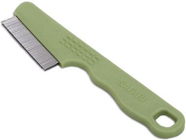 Safari Double Row Flea Comb For Dogs Cat Fleas Fleas
