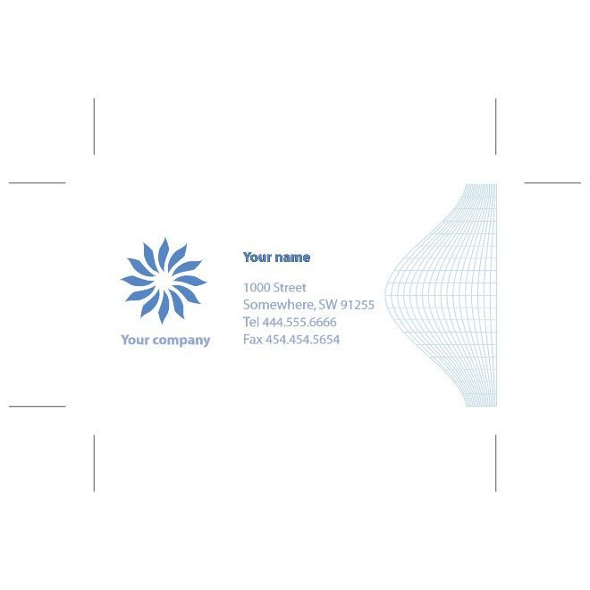 BUSINESS CARD VECTOR FORMAT