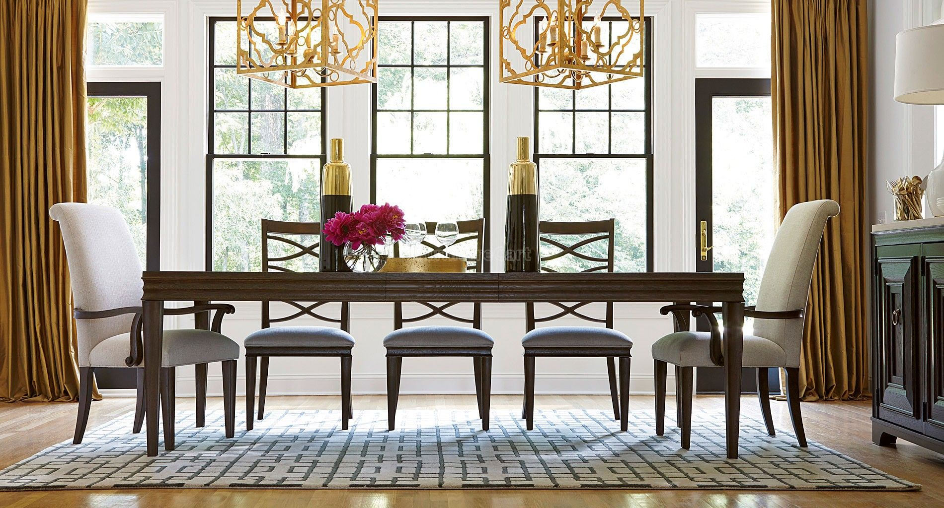 California Dining Room Set W Chair Choices Hollywood Hills