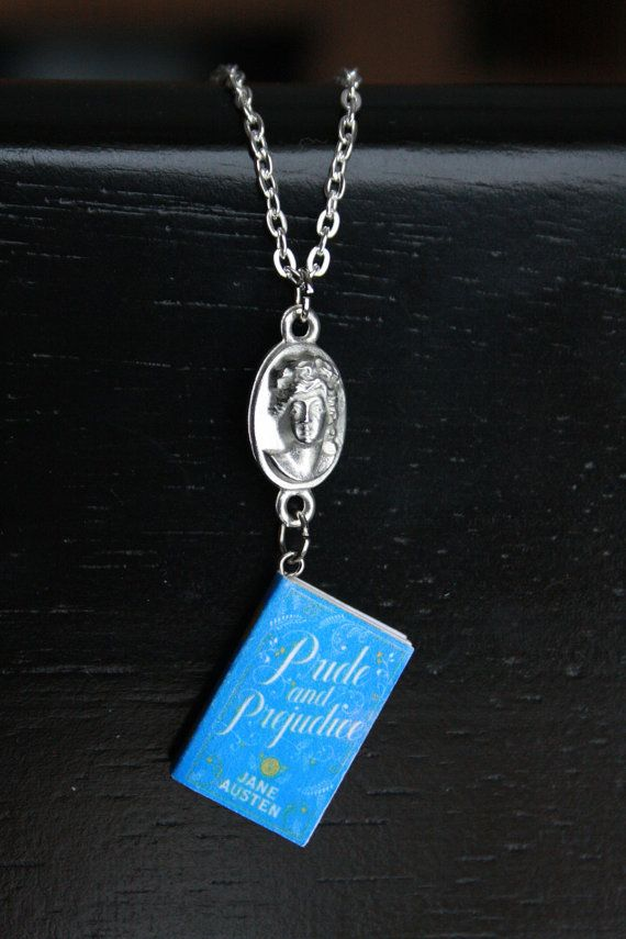 Hey, I found this really awesome Etsy listing at https://www.etsy.com/listing/178908512/pride-prejudice-mini-book-necklace