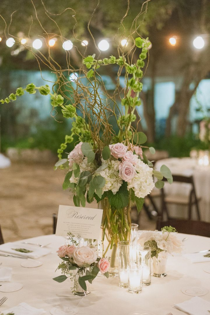 Elegant Outdoor Texas Wedding Wedding centerpieces, Centerpieces