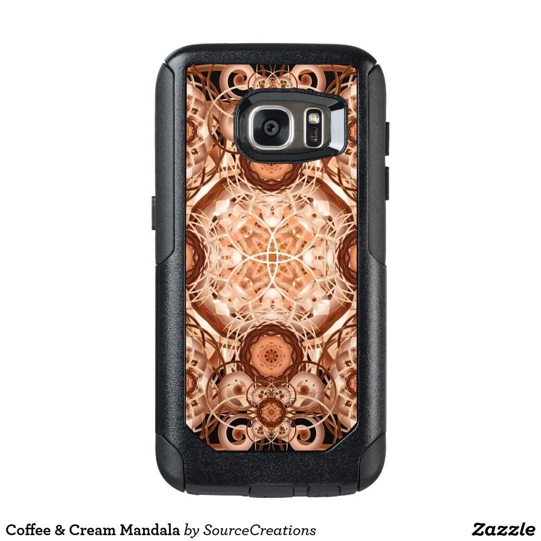 Coffee & Cream Mandala OtterBox Samsung Galaxy S7 Case
