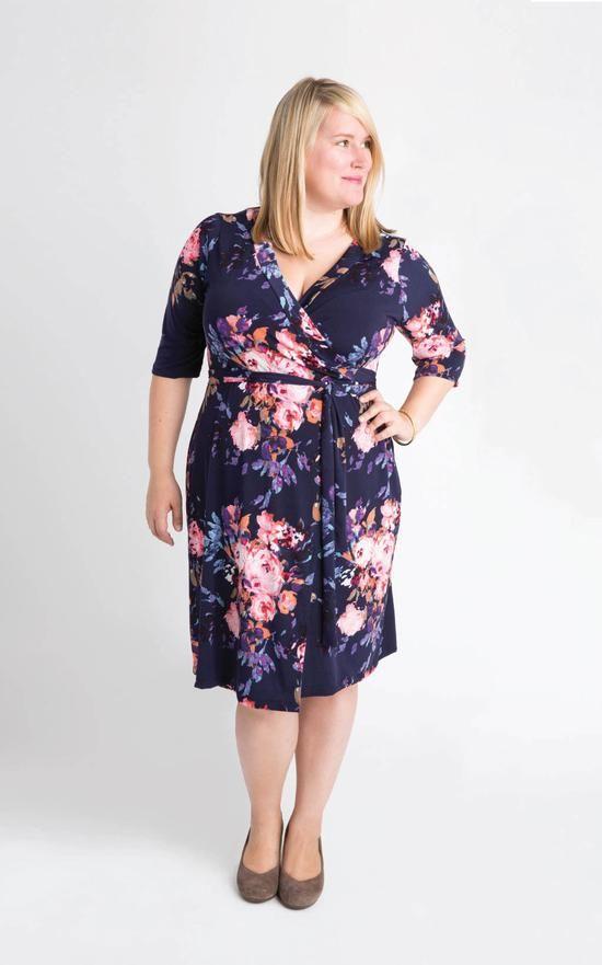 Appleton Dress PDF pattern | Sewing | Pinterest | Wickelkleid ...