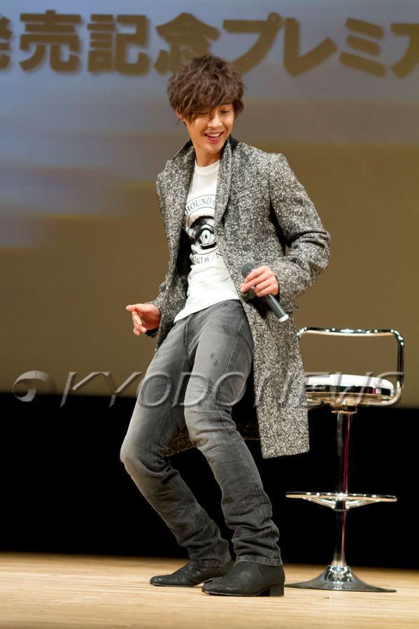 Handsome Kim Hyun Joong 김현중 at UNLIMITED PREMIUM Event