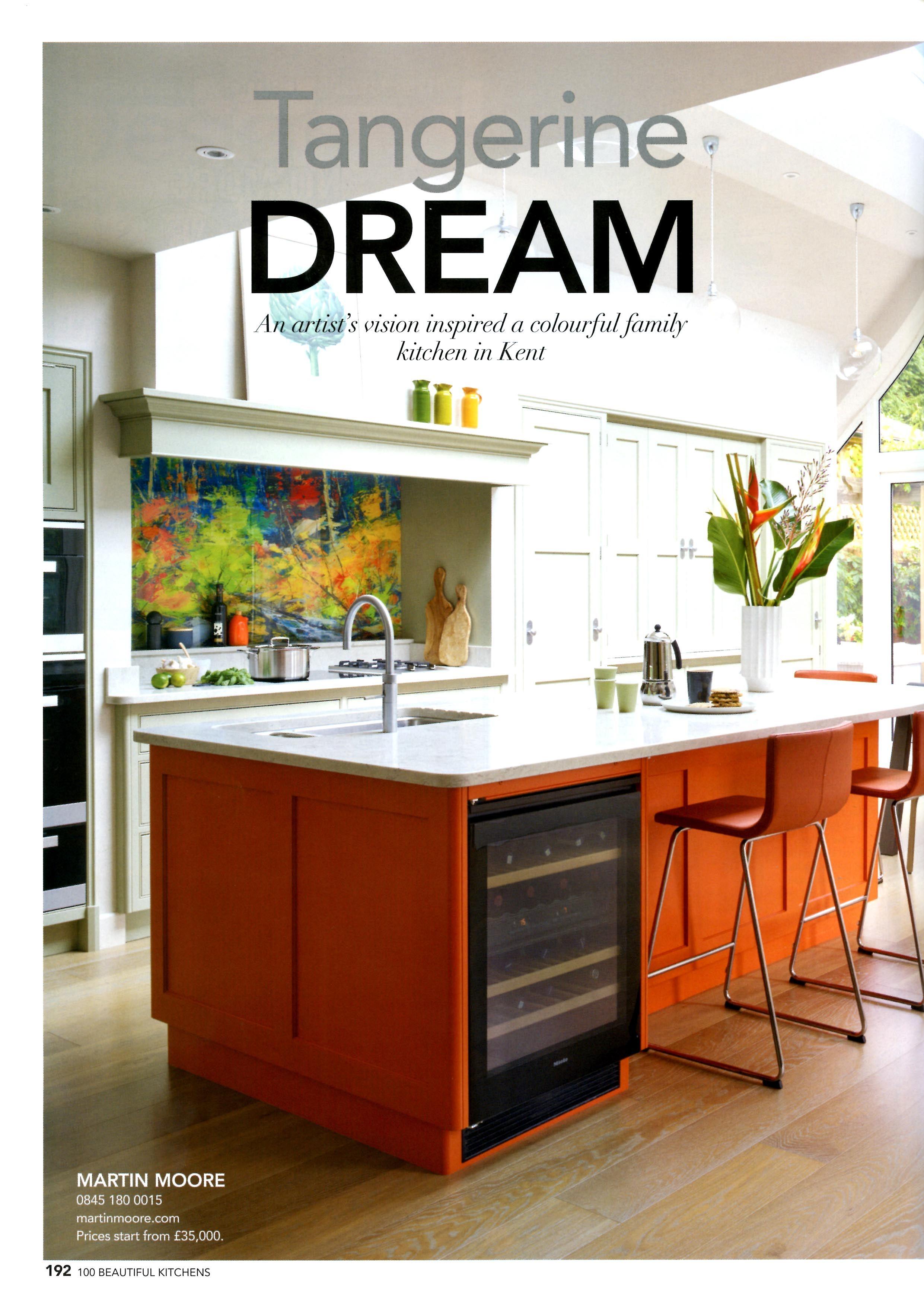 Tangerine Dream: An Artist's vision inspired a colourful