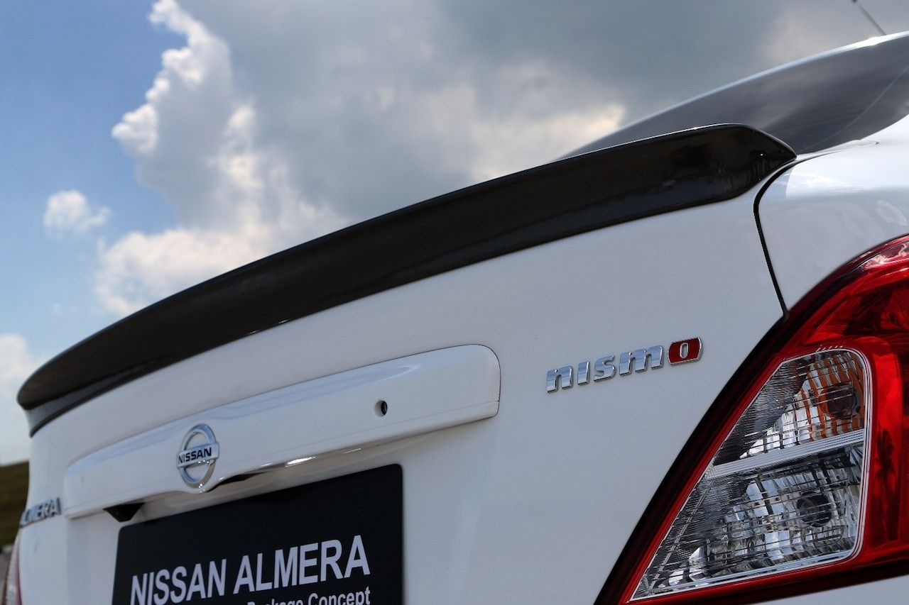 Nissan shows versa nismo performance package concept nissanhtml