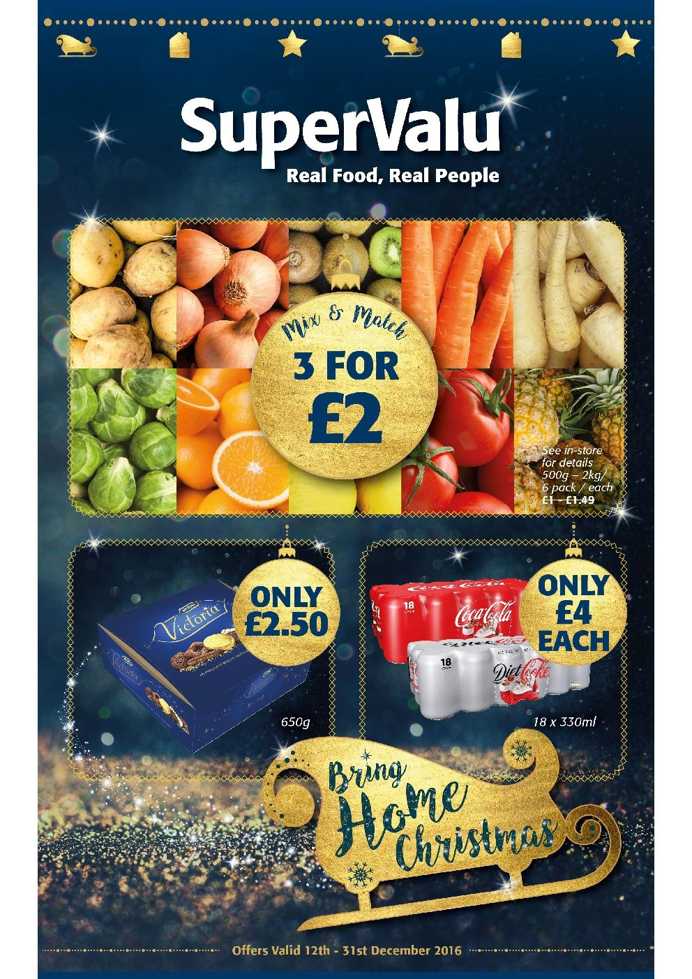SuperValu Offers 12th 31st December 2016 http//www