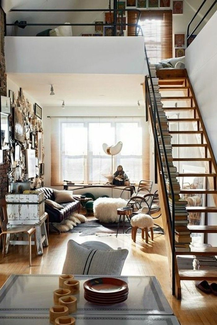 loft et associé, meuble tv industriel pas cher pour le salon chic ...
