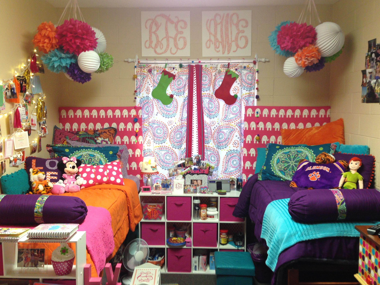 Dorm Room At Clemson Dorm Decorations College Room