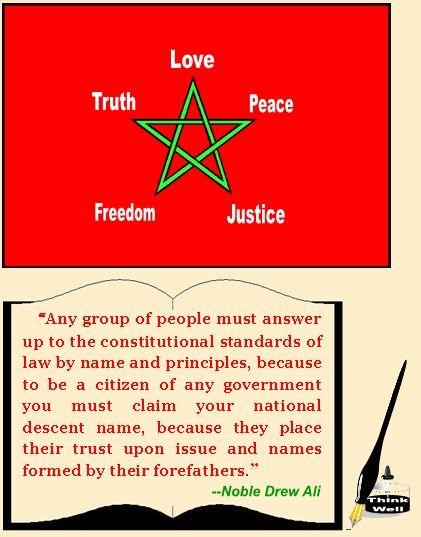 MOORISH ACTIVITIES | North-West & South West Amexem | Moorish