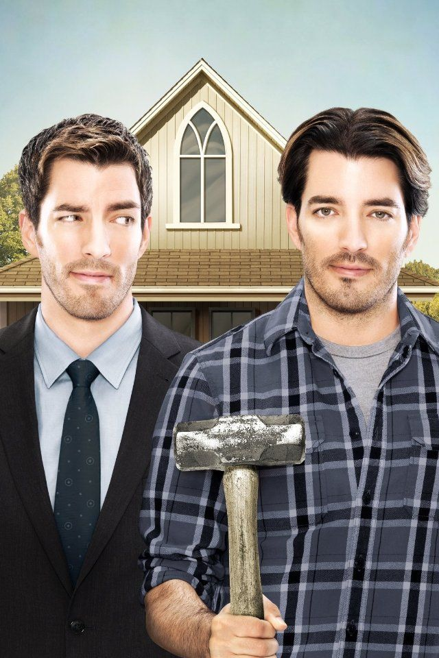 Jonathan Silver Scott & Drew Scott are the Property Brothers ... on family shows, interior design shows, house cleaning shows, house building shows, house renovations shows, house repair shows, weight loss shows,