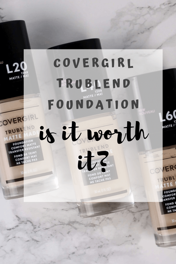 Covergirl Trublend Matte Made Foundation Review & Swatches