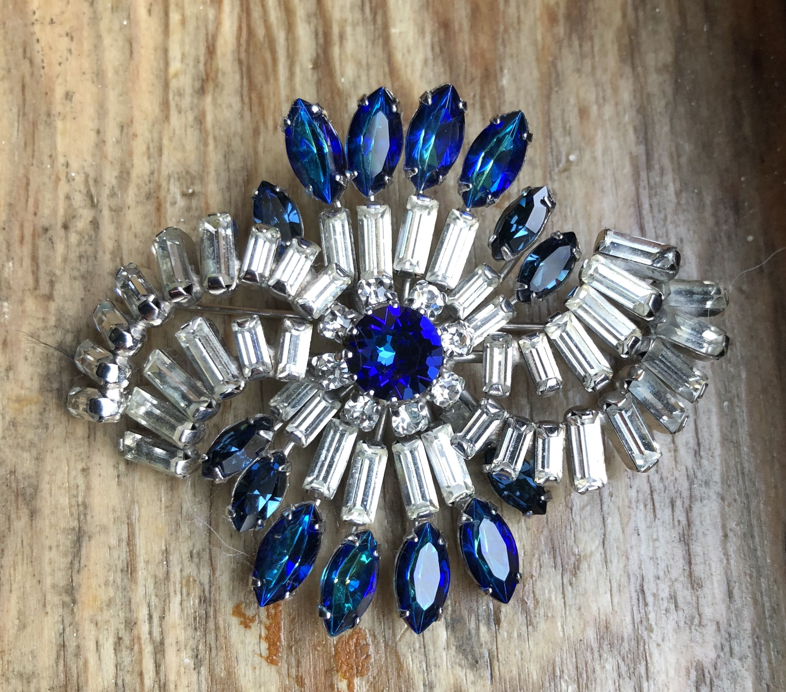 blue pretty juliana and confetti style rhinestone with stone a bracelet century setting clear silver mid product sapphire on tone