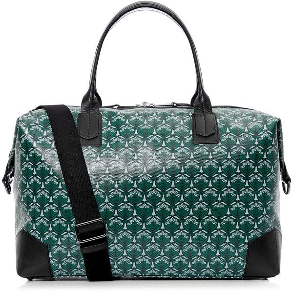 43276c54cf Dark Green Liberty London Regent Weekend Bag ( 990) ❤ liked on Polyvore  featuring bags and luggage