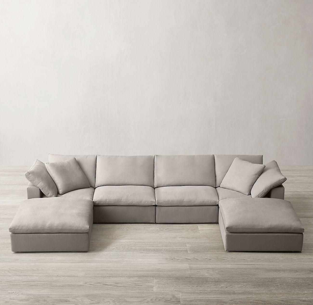 Cloud Modular Customizable Sectional Sectional Sofa Comfy Comfy Sectional Couches Living Room